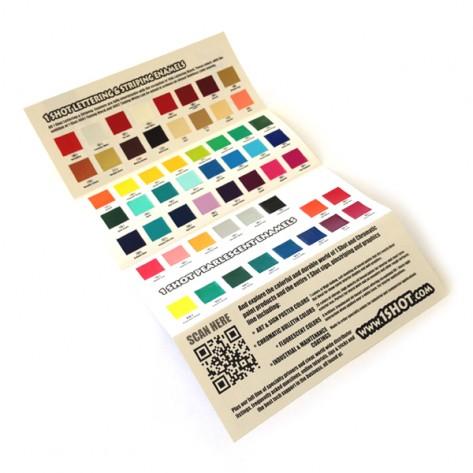 OneShot Colour Chart