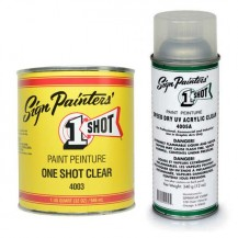 OneShot Sign Paint Top Coats